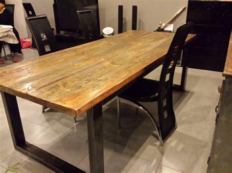 meuble industriel table de salle 224 manger meubles et rangements par m decoindustriel