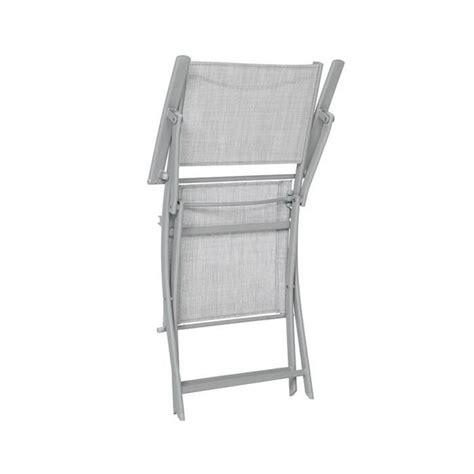 fauteuil pliant hesp 201 ride modula galet chin 201 silver mat achat vente fauteuil de jardin pliant