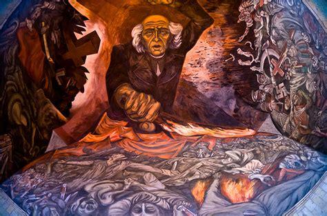 mural by jose clemente orozco featuring miguel hidalgo