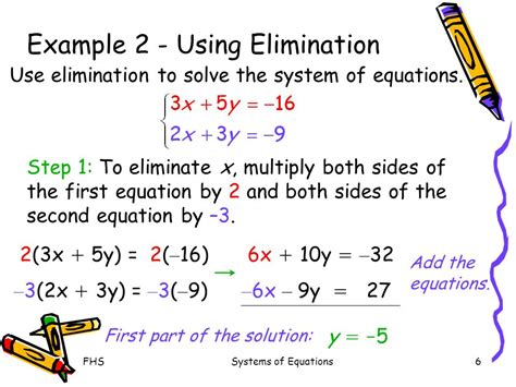 Solving Systems Of Equations Using Elimination  Ppt Video Online Download