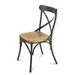 chaise en fer forg 233 et bois de conception de maison
