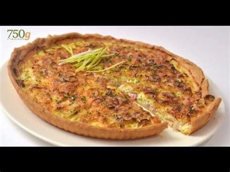 recette de tarte aux poireaux 750 grammes