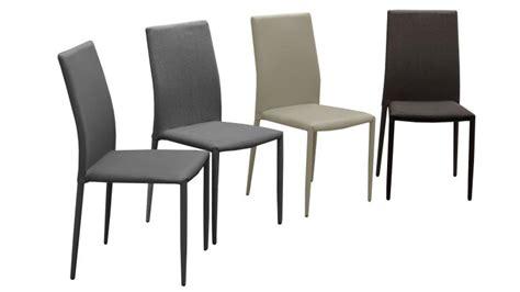 lot de 6 chaises en tissu ou similicuir design ludvika mobilier moss