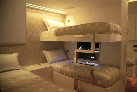 What Is A Pullman Bed by Luxury Yacht Charter Mao Guest Mangusta Overmarine