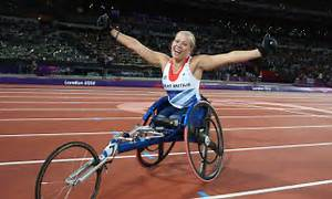 London 2012 Paralympics: Hannah Cockroft wins 100m | Daily ...
