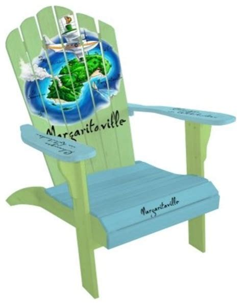 Margaritaville Adirondack Chair Parrot by Margaritaville Classic Adirondack Parrot Island