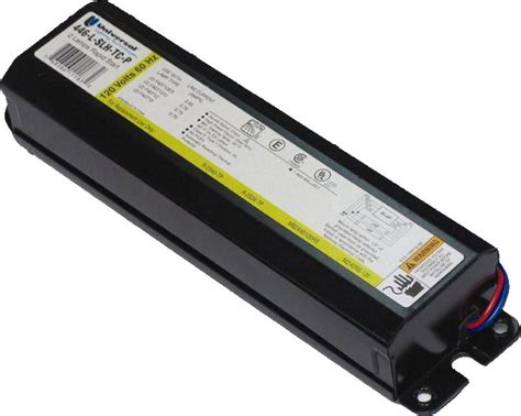 827 slh tc p universal ballast watt 277 volt fluorescent ballast blocklighting