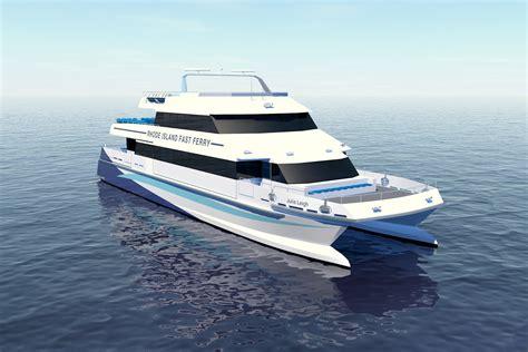Catamaran Rhode Island by Second Incat Crowther Fast Catamaran For Rhode Island Fast