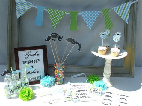 boy baby shower decorations favors ideas