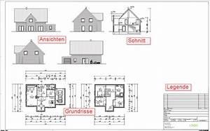 Grundriss Schnitt Ansicht : modell und plandarstellung ~ Markanthonyermac.com Haus und Dekorationen