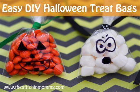Easy Diy Halloween Treat Bags  Guest Post Sneak Peak