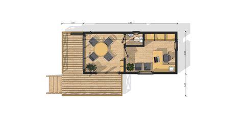 cuisine bureau de jardin isol 195 169 sans permis de construire plan chalet bois rond plan chalet