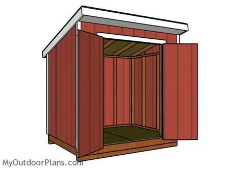 6x8 lean to shed plans myoutdoorplans free woodworking plans and projects diy shed wooden