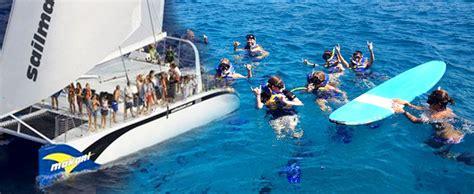 Makani Catamaran Sail Hawaii by Makani Catamaran Waikiki Turtle Canyon Snorkel Sail