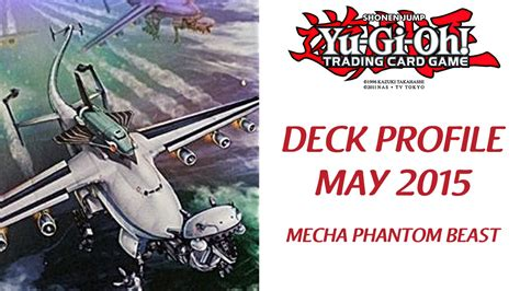 yu gi oh mecha phantom beast deck profile mayo 2015