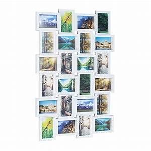 Fotorahmen Selbst Gestalten : relaxdays bilderrahmen f r 24 fotos fotorahmen zum h ngen fotocollage selbst gestalten hbt ~ Markanthonyermac.com Haus und Dekorationen
