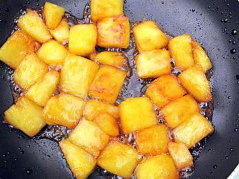 recette d ananas caram 233 lis 233 et purquoi pas flamnb 233
