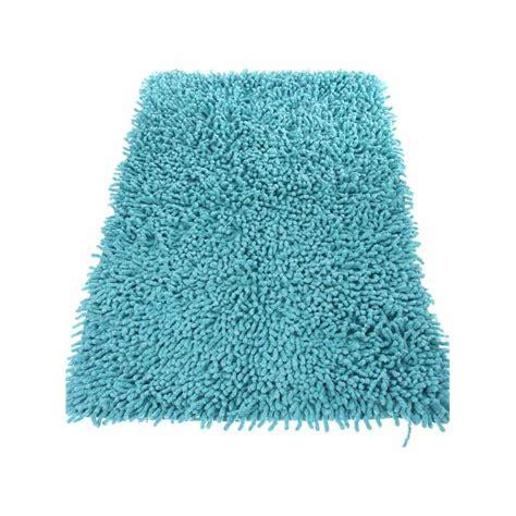 tapis de salle de bain 50x80cm turquoise