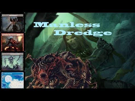 turn 2 win mtg legacy manaless dredge vs monored burn gameplay