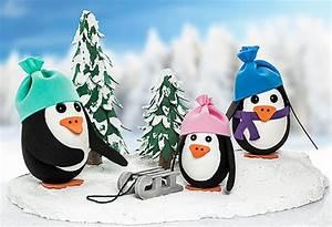 Servietten Selber Drucken Anleitungen : pinguine aus styropor eiern basteln buttinette bastelshop ~ Markanthonyermac.com Haus und Dekorationen