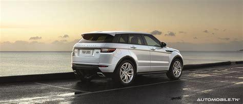 prix land rover range rover evoque a partir de 163 300 dt