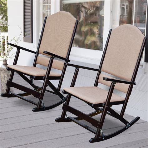 wildon home 174 cedar creek solid wood folding rocking chairs reviews wayfair