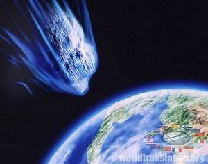 Asteroid Falling On Fire (page 3) - Pics about space