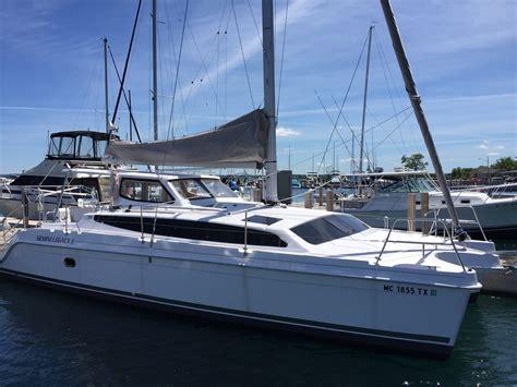 Catamaran For Sale Great Lakes by Gemini Legacy 35 Catamaran Great Lakes Sailing Co