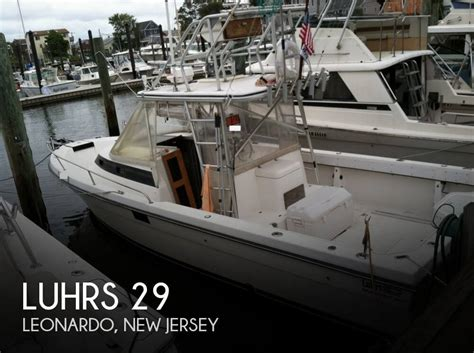 New Boats For Sale Under 20000 by Luhrs 29 Boat For Sale In Leonardo Nj For 19 000 Pop
