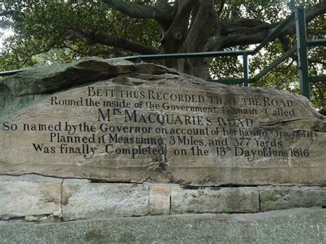 mrs macquarie s chair picture of mrs macquarie s chair