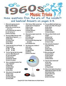 1960s trivia 50 s 60 s rock n roll ideas trivia retirement and