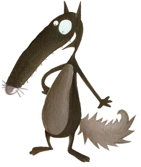 le loup qui voulait changer de couleur tata nananou
