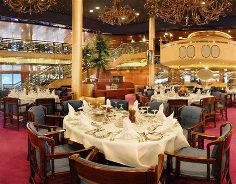 dinning on ms zaandam a america line cruise ship travels america