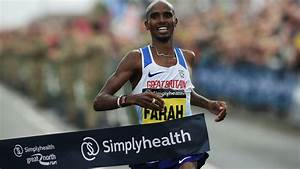 Record breaker Farah wins fourth successive Great North run