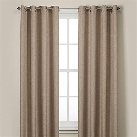 rockport blackout grommet window curtain panels bed bath beyond