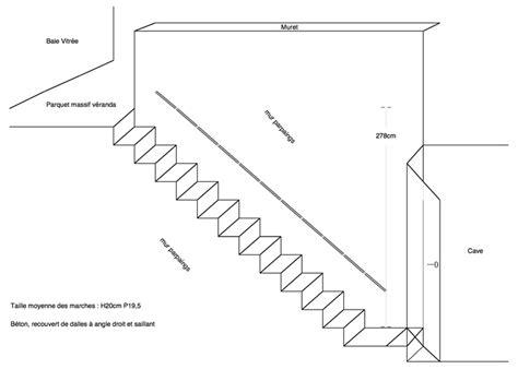 conseils des des internautes bricoleurs menuiserie agrandir les marches d un escalier en b 233 ton