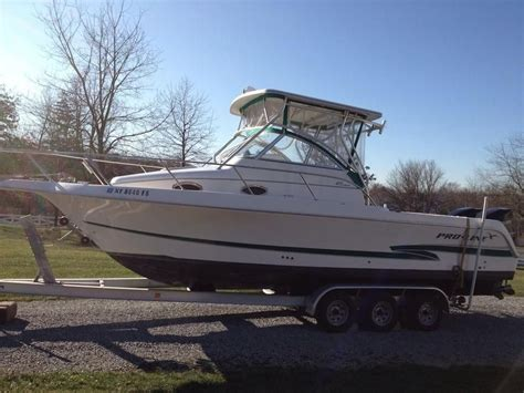 Proline Boats For Sale Long Island 2001 pro line 27 walk around srg power boat for sale