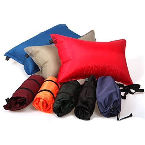airplane travel pillow outdoor self cing pillow lightweight travel