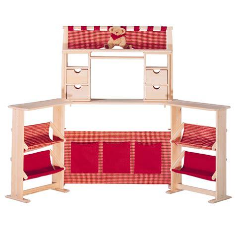 Roba Kaufladen Poldi aus Holz Kaufmannsladen