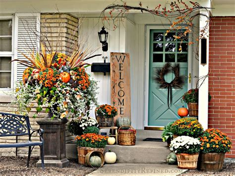 Fall Decorating : Fabulous Outdoor Decorating Tips And Ideas For Fall