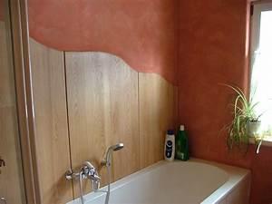 Holzdecke Im Bad : wandverkleidung im bad ~ Markanthonyermac.com Haus und Dekorationen