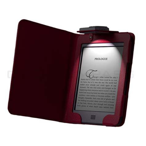 Kindle Touch Cover With Light by Kindle Touch 4 4th Gen Led Light Lighted Leather