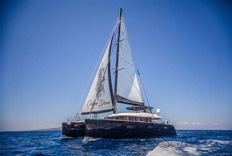 Catamaran In Greek Islands by Private Greece Catamaran Charters Luxury Catamarans For