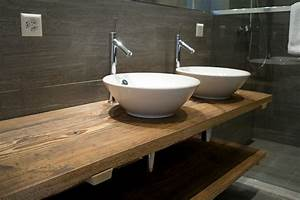 Aufsatzwaschbecken Mit Schrank : waschtisch aus altholz bathroom pinterest waschtisch badezimmer und bad ~ Markanthonyermac.com Haus und Dekorationen