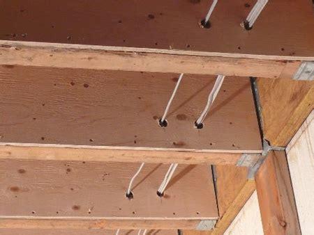 100 floor joist bracing spacing sagging crawl space