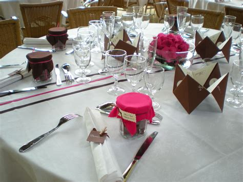 deco pour table le mariage