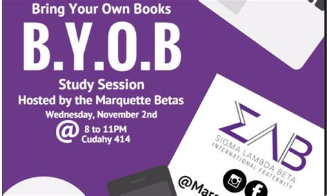 Bring Your Own Books Study Session