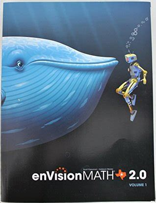 Envision Math 20 Texas Edition Volume 1 5th Grade Workbook  Student Edition 2015 By Scott Foresman