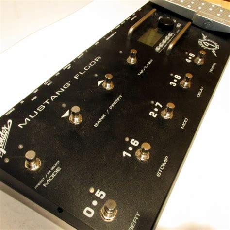 fender mustang floor board multi effects modeling guitar fx pedal reverb