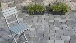 Terrasse Verlegen Preis : terrantik pflastersteine in grau anthrazit nuanciert perfekt mit dem bossantik mauersystem zur ~ Markanthonyermac.com Haus und Dekorationen